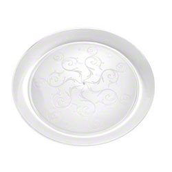 Fineline Settings Savvi Serve™ Clear Plate - 9""