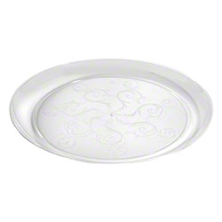 Fineline Settings Savvi Serve™ Clear Plate - 10""