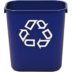 Rubbermaid® Deskside Recycling Container - 13 5/8 Qt.