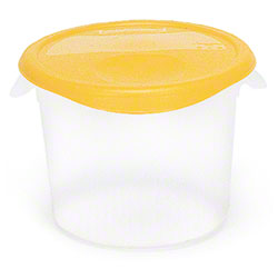 Rubbermaid Round Storage Container 18 Qt Clear Maintenance
