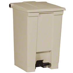 Rubbermaid® Step-On Can - 12 Gal., Beige