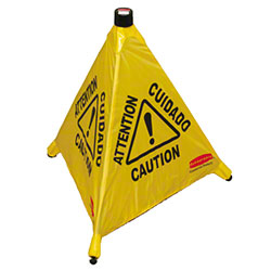 Rubbermaid® Pop-Up Safety Cone - 30""