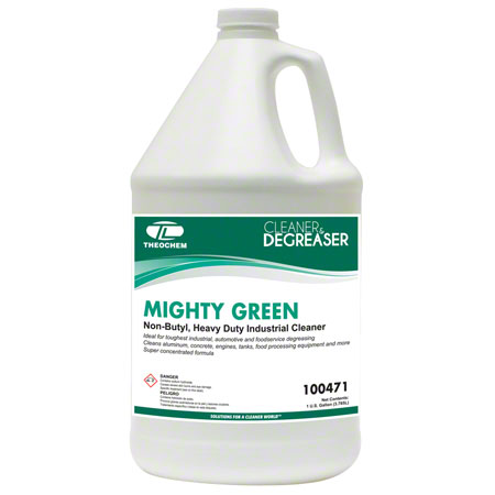 Theochem Mighty Green Alkaline Degreaser - Gal.