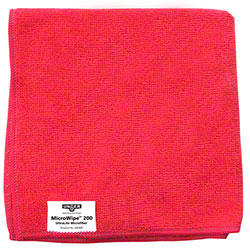 Unger® MicroWipe™ 200 Microfiber Cloth - Red
