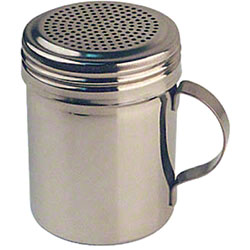 Winco® Stainless Steel Dredge w/Handle - 10 oz