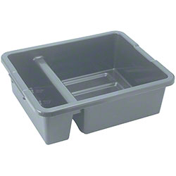Winco® Heavyweight Divided Bus Box - Gray