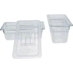 "Winco® Polyware Food Pan - 1/3 Size, 4"""
