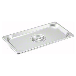 Winco® Steam Pan Cover - 1/3 Solid