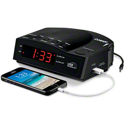 Conair® Alarm Clock Radio w/USB Charging Port