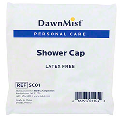 DawnMist® Latex Free Shower Cap