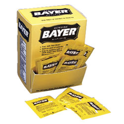 First Aid Bayer Aspir 2/pk 50pk/bx