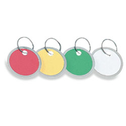 Metal Rim Key Tags 50