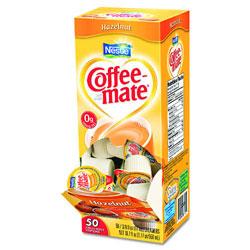 Coffee Mate Hazelnut 50c T/pk 4pk/case