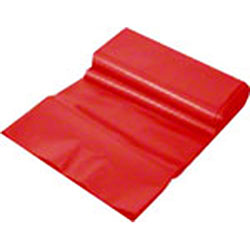 SSS® Galaxy HD Can Liner - 33 x 40, .55 mil, Red