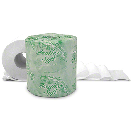 "Von Drehle Feather Soft® Bath Tissue - 4.5"" x 3.6"""