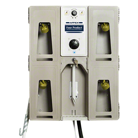 Affex Four Product Wall Mount Chemical Dilution Dispenser