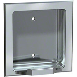 ASI Recessed Soap Dish - Satin Finish