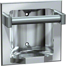 ASI Recessed Soap Dish w/Bar - Satin Finish