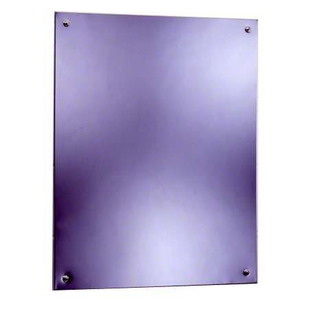 "Bobrick B-1556 Series Frameless Mirror - 17 1/2"" x 29 1/2"""