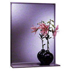 Bobrick B-166 Series Mirror/Shelf Combination
