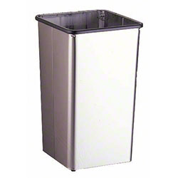 Bobrick Open-Top Waste Receptacle - 13 Gal.