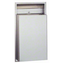 Bobrick ClassicSeries® Recessed Waste Receptacle