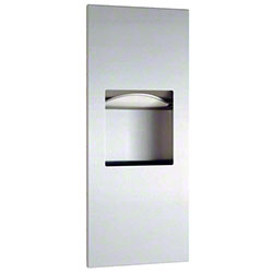 Bobrick TrimLineSeries™ Towel Dispenser/Waste Receptacle