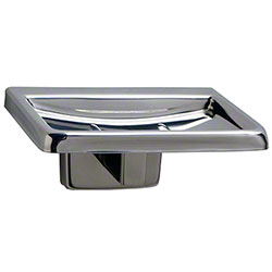 Bobrick Stainless Steel Surface-Mounted Soap Dish - Polished