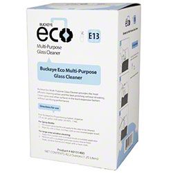 Buckeye® Eco® E13 Multi-Purpose Glass Cleaner - 1.25 L