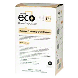 Buckeye® Eco® E61 Heavy-Duty Cleaner - 1.25 L Bag