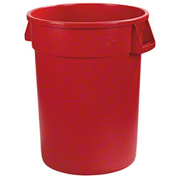 Carlisle Bronco™ Round Waste Container - 20 Gal., Red