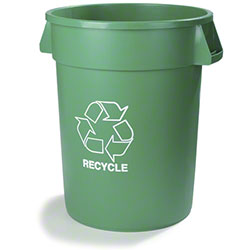 Carlisle Bronco™ Recycling Container - 32 Gal., Green