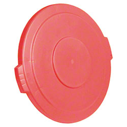 Carlisle Bronco™ Round Waste Container Lid - 10 Gal., Red
