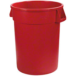 Carlisle Bronco™ Round Waste Container - 44 Gal., Red
