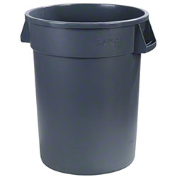 Carlisle Bronco™ Round Waste Container - 55 Gal., Grey