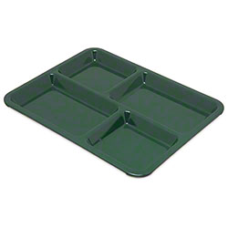 Carlisle 4 Compartment Tray - Forest Green