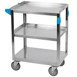Carlisle 3 Shelf Stainless Steel Utility Cart