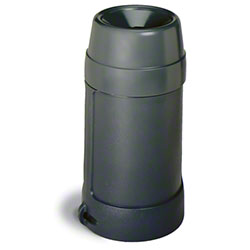 Continental Funnel Top™ 24 Gal. Receptacle - Grey