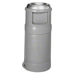 Continental Ash Top™ 24 Gal. Receptacle - Grey