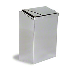 Continental Sanitary Napkin Receptacle - Chrome