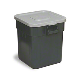Continental Huskee™ Square Lid for 32 Gal.  - Grey