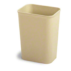 Continental UL Classified Rectangular Wastebasket - 7 Qt.