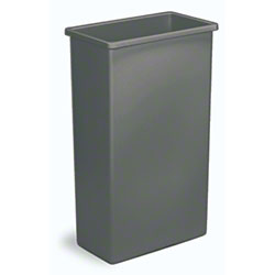 Continental Wall Hugger Waste Receptacles & Lids