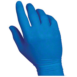Handgards® SoftFit® Nitrile Comfort Blue Glove - Large
