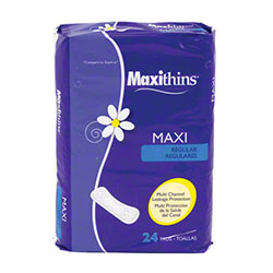 HOSPECO® Maxithins® Maxi Unscented Regular  - 24 ct.