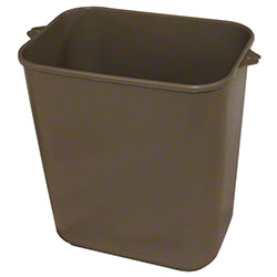 Impact® Pinch'm™ Soft-Sided Wastebasket - 14 Qt., Beige