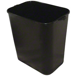 Impact® Pinch'm™ Soft-Sided Wastebasket - 14 Qt., Black