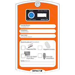 Impact® Barricade 30-Day Timer Card