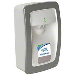 Designer Series No Touch M-Fit Dispenser - White/Gray