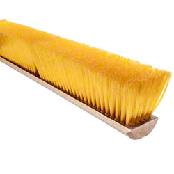 "Magnolia Professional Yellow Polystyrene Brush-24"", w/Handle"